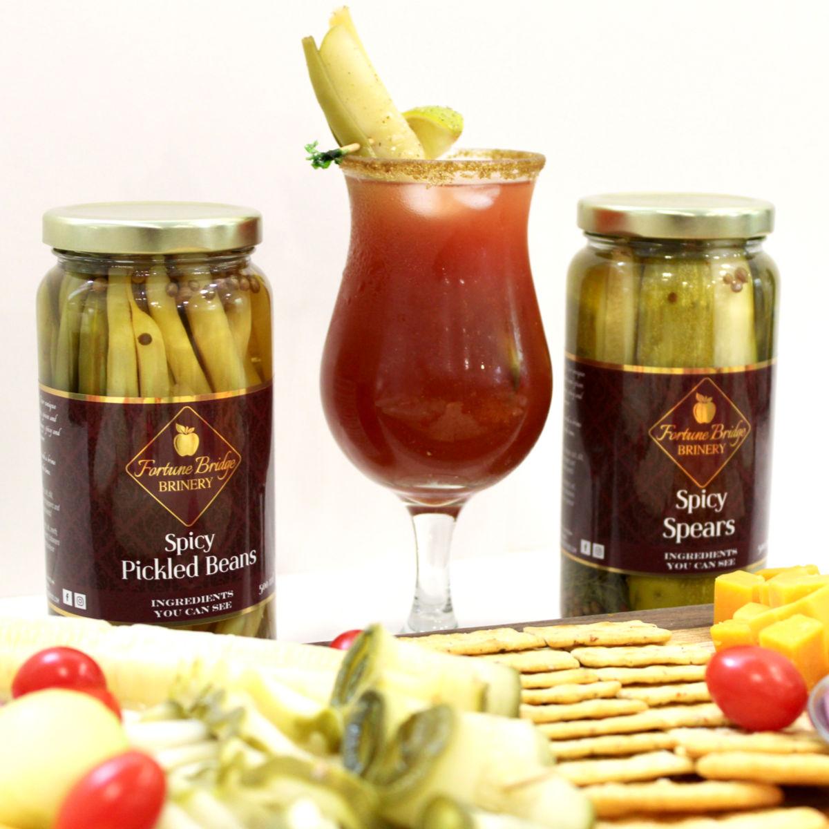 fortune bridge brinery - charcuterie pickles - pei