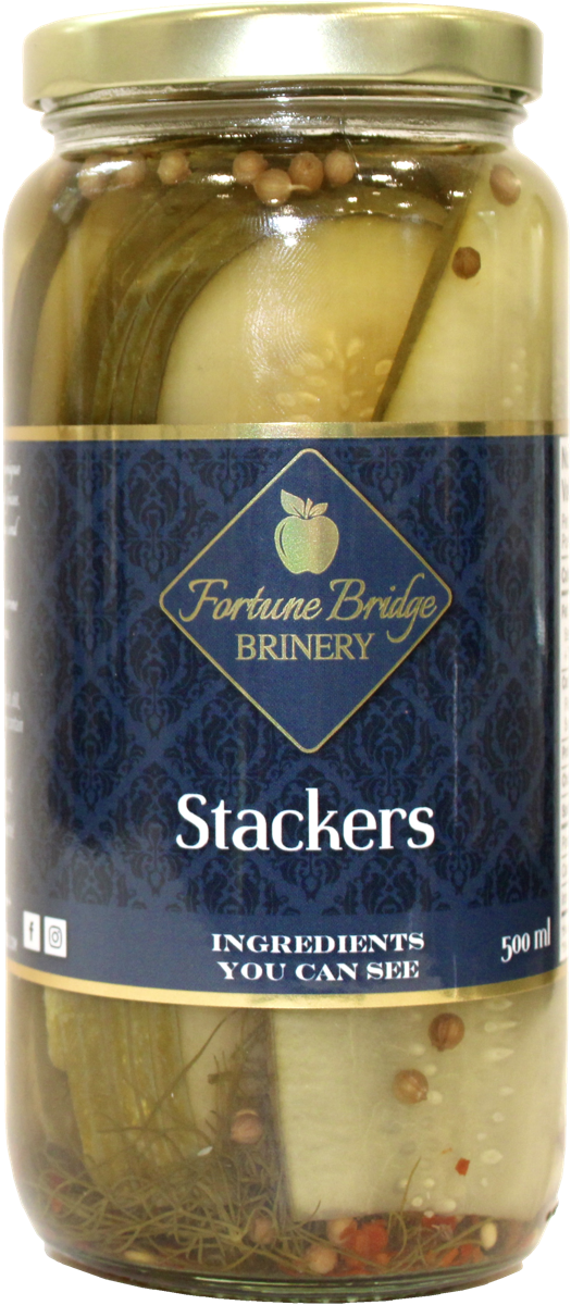 fortune bridge brinery - dill pickle stackers - pei